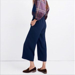 Madewell Huston Pull-On Navy Pants